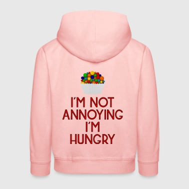hungry lunch noon food fast food pizza31 - Kids' Premium Hoodie