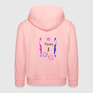 Shirts and more couples for twins boy Mädche - Kids' Premium Hoodie