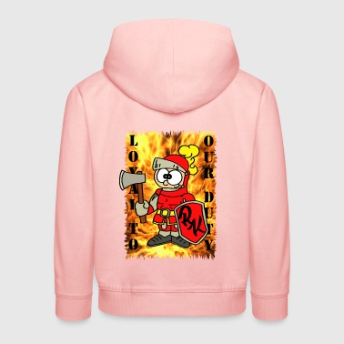 Löschi - Loyal to our Duty - Fire Department - Kids' Premium Hoodie