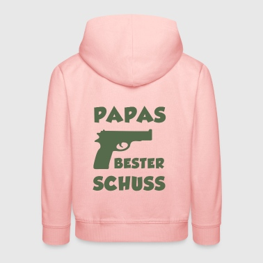 Dad's best shot | children - Kids' Premium Hoodie