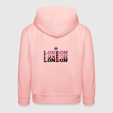 London England krone brexit big ben UK trip tour - Kids' Premium Hoodie