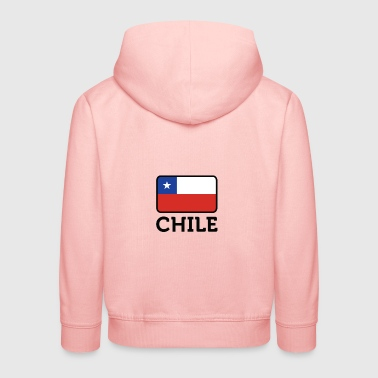 National Flag Of Chile - Premium-Luvtröja barn
