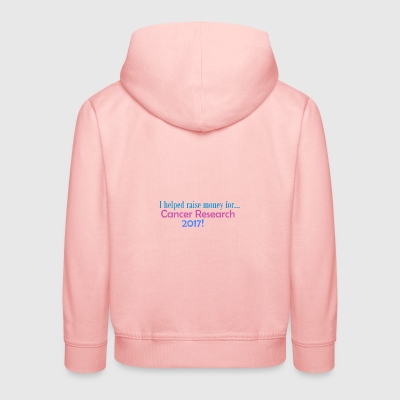 CANCER RESEARCH 2017! - Kinder Premium Hoodie