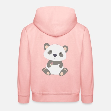 Pink Panda Emoji Sweatshirt