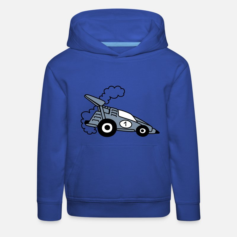 Bestsellers Q4 2018 Hoodies & Sweatshirts - Racing car - Kids' Premium Hoodie royal blue