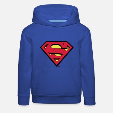 Comics Sweat-shirt pour enfants Superman S-Shield en flex - Pull à capuche Premium Enfant