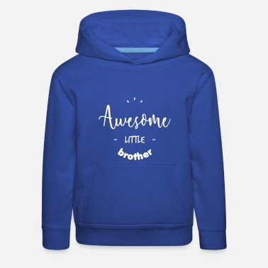 Grote Awesome little Brother - Kinderen trui Premium met capuchon