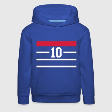 Football france 98 bleu - Pull à capuche Premium Enfant