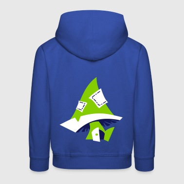 Magic Mushroom - Children Illustration - Kids' Premium Hoodie