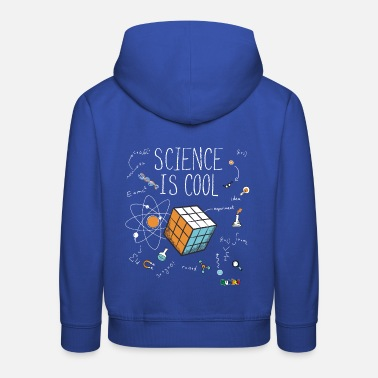Rubiks Cube Rubik's Cube Science is Cool - Kinder Premium Hoodie