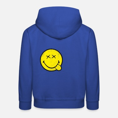 SmileyWorld Classic Oldschool Smiley - Kids' Premium Hoodie