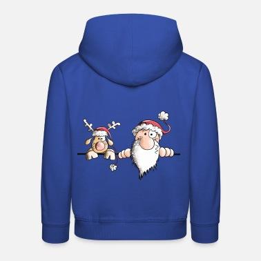 christmas the christmas team kids premium hoodie - Feel The Joy Christmas Sweater