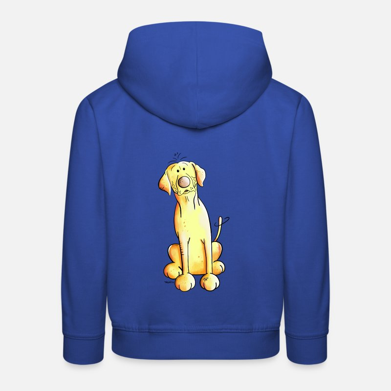 Golden Hoodies & Sweatshirts - Golden Labrador Retriever - Kids' Premium Hoodie royal blue