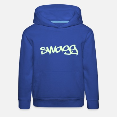 Swagg Swagg graff for t-shirts Swagg - Kids' Premium Hoodie