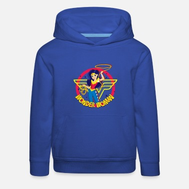 Woman DC Super Hero Girls Wonder Woman Lasso Magique - Sweat à capuche premium Enfant