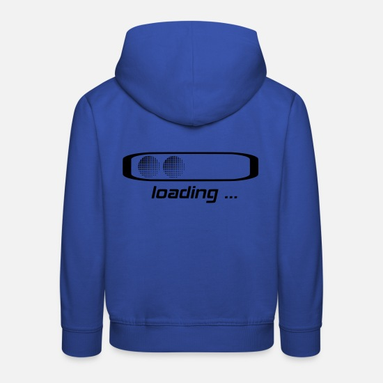 Bar Hoodies & Sweatshirts - loading bar, loading bar - Kids' Premium Hoodie royal blue