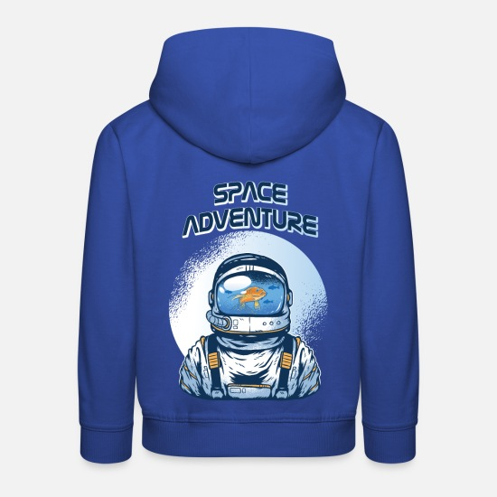 Space Hoodies & Sweatshirts - astronaut - Kids' Premium Hoodie royal blue