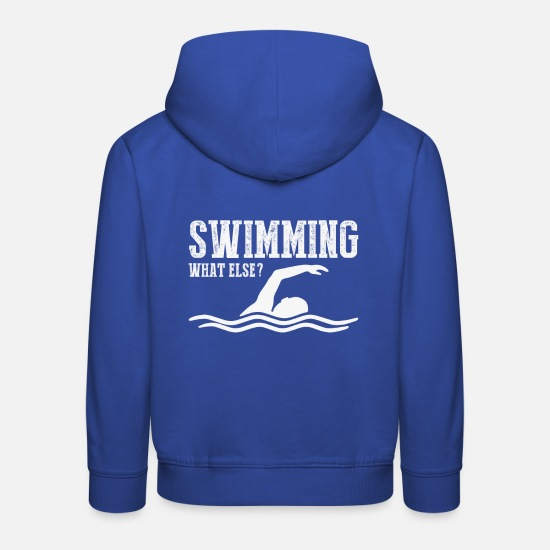 Baywatch Hoodies & Sweatshirts - Swimmer Shirt · Performance Swimmer · Gift - Kids' Premium Hoodie royal blue