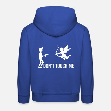Cupido Do not Touch Me Cupido En - Kids' Premium Hoodie