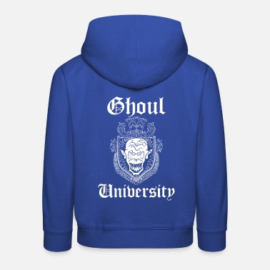 Gore University Ghoul Monster Gore Halloween - Kids' Premium Hoodie