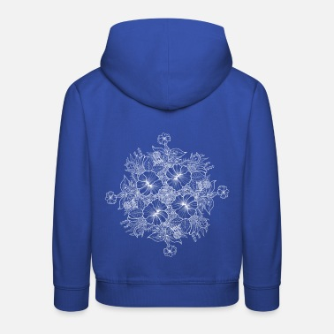 Bouquet of flowers - white - Kids' Premium Hoodie