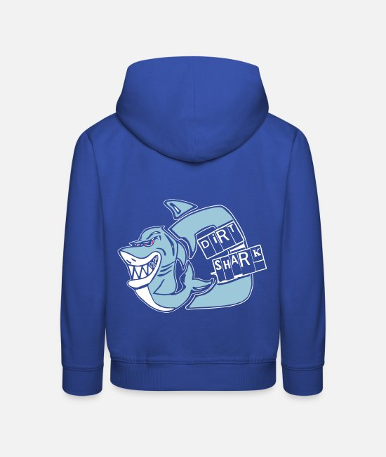 Shark Hoodies & Sweatshirts - dirt shark - Kids' Premium Hoodie royal blue