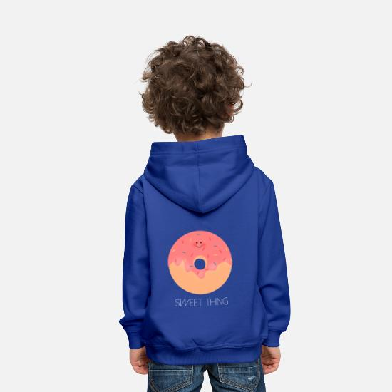 Gift Idea Hoodies & Sweatshirts - Sweet thing donut baby girl - Kids' Premium Hoodie royal blue