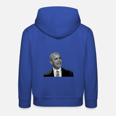 Obama Obama - Sweat à capuche premium Enfant