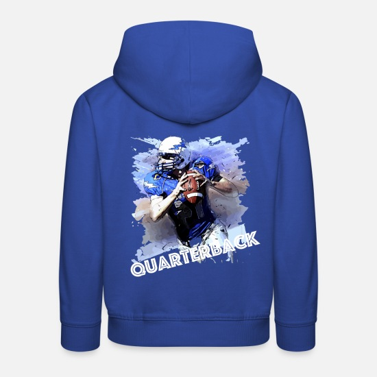 Stadium Hoodies & Sweatshirts - quarterback - Kids' Premium Hoodie royal blue