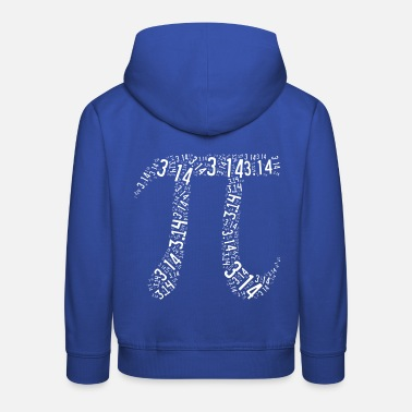 Leible Pi - the number - Leibl Designs - Kids' Premium Hoodie