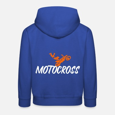 motocross - Sweat à capuche premium Enfant