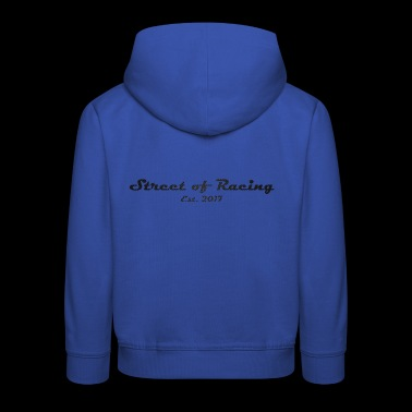 Street of Racing - collection three - Kids' Premium Hoodie