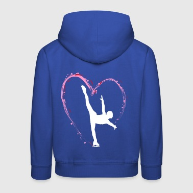 Figure skating Ice skating Ice dance figures - Kids' Premium Hoodie