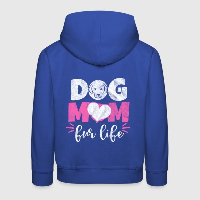 Shirt for dog mum as a gift - Kids' Premium Hoodie
