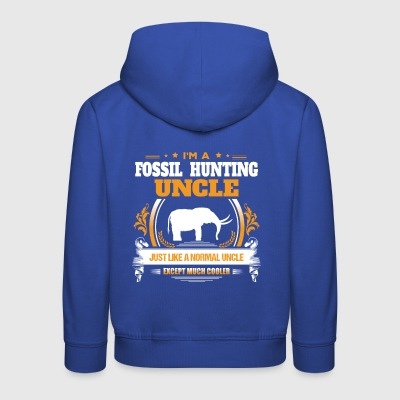 Fossil Hunting Uncle Shirt Gift Idea - Kids' Premium Hoodie
