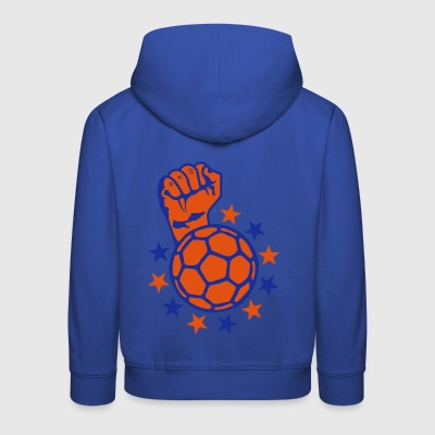 handball fist lift fist close up faust p - Kids' Premium Hoodie