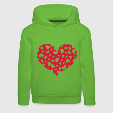 Hundreds heart - Kids' Premium Hoodie