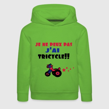 j'ai tricycle - Pull à capuche Premium Enfant