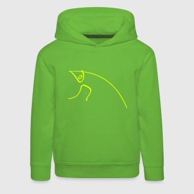 Pole Vault Athletics Pole Vault Pictogram - Kids' Premium Hoodie