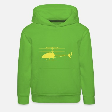Helicopter Helicopter modeling - Kids' Premium Hoodie
