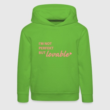 not perfect - Kids' Premium Hoodie
