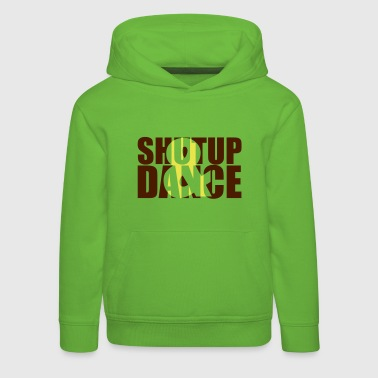 shut up and dance - Felpa con cappuccio Premium per bambini