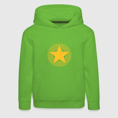 Star With Circles - Kids' Premium Hoodie