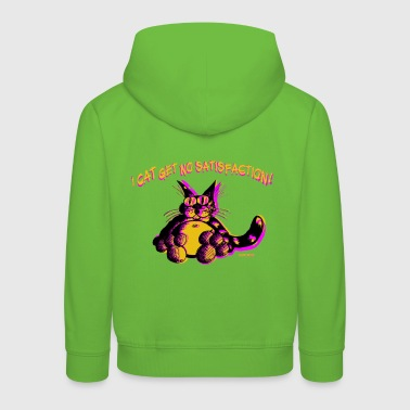 I Cat Get No Satisfaction - Kids' Premium Hoodie
