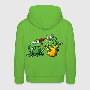 Princess is a Frog Now - Kids' Premium Hoodie