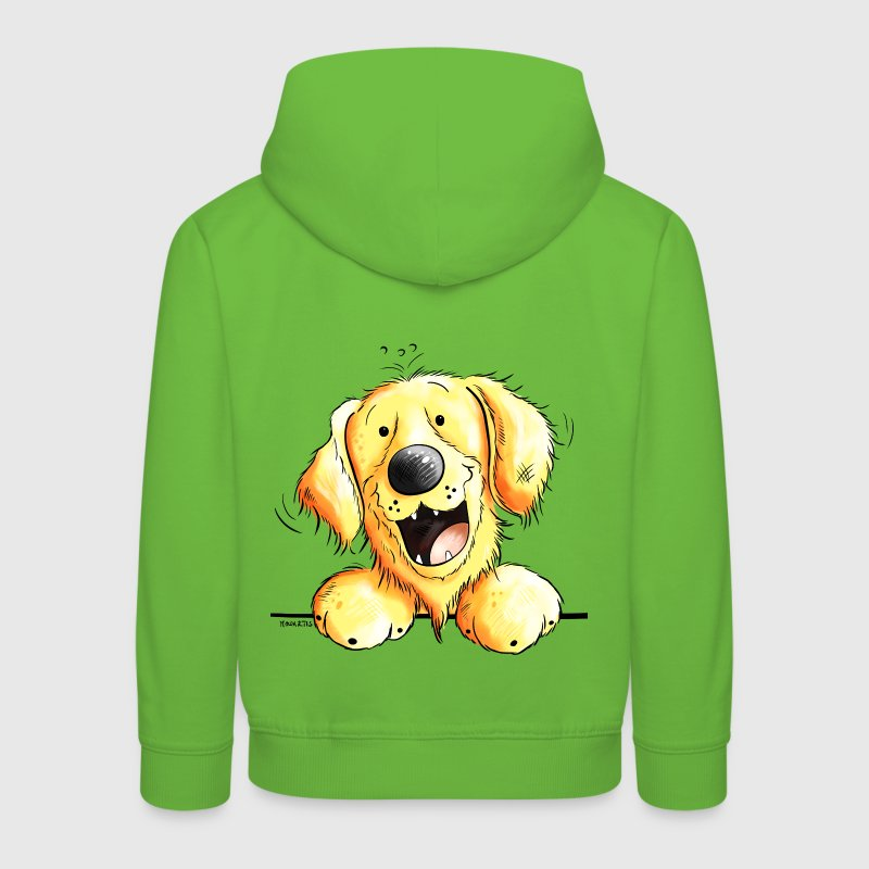 Golden Retriever  - Pull à capuche Premium Enfant