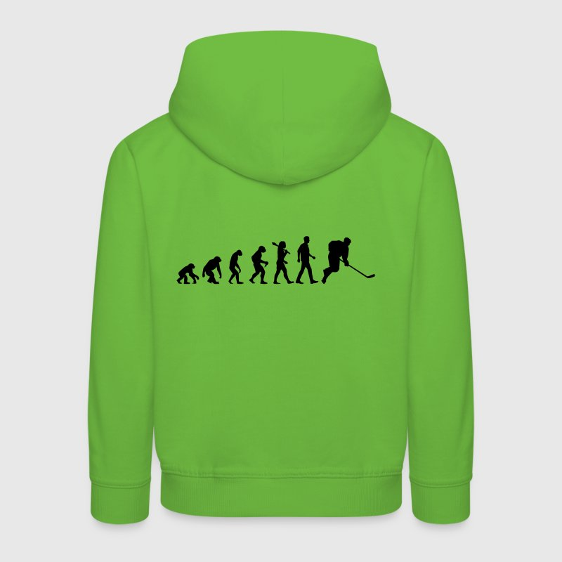 Evolution of Hockey - Kinder Premium Hoodie