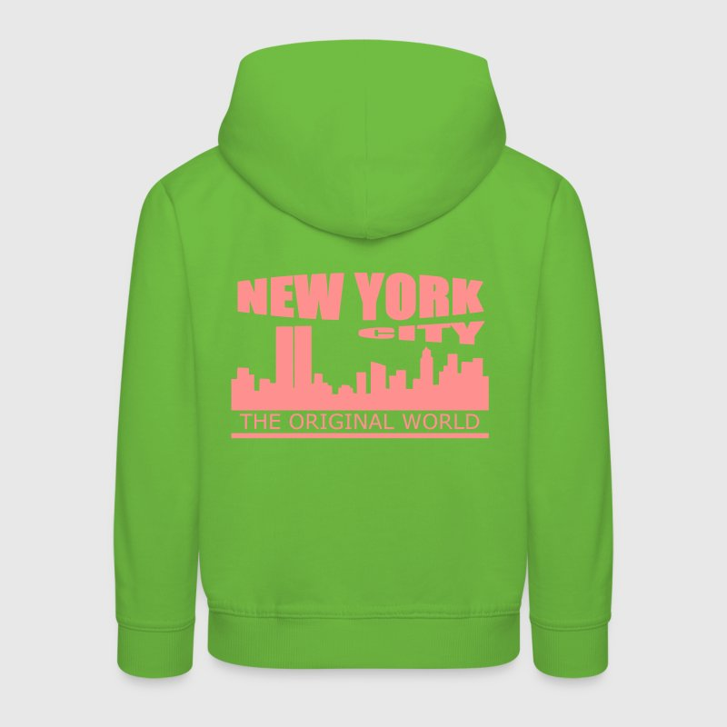 new york city - Kinder Premium Hoodie