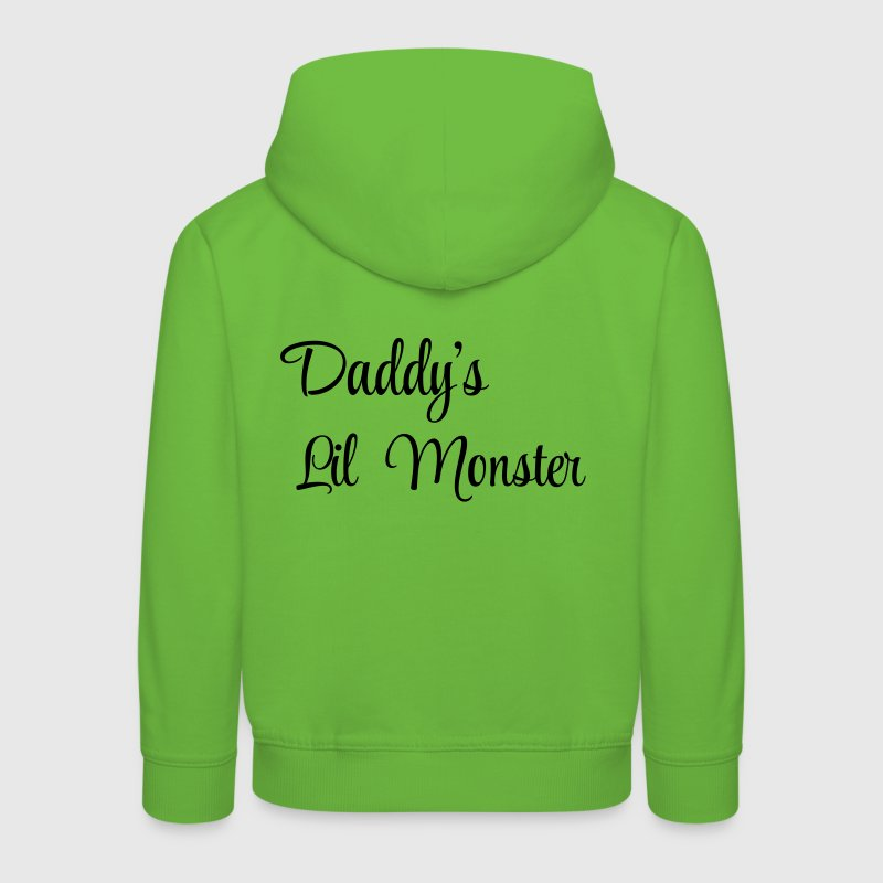 Daddy's little monster - Premium Barne-hettegenser
