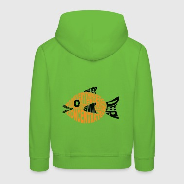 The Challenge Fish - Kids' Premium Hoodie